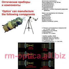 Lenses are dvuyakovognuty