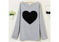 Модная женская кофта Сердце