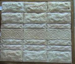 """Tile with a decor """"Celts"""
