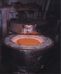 Crucible electric furnaces