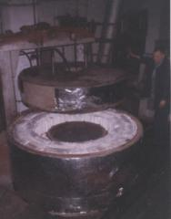 The shaft furnace (ring ate a well)