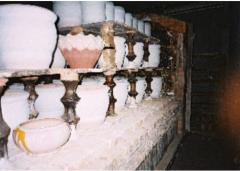 Furnaces of roasting of ceramics with pull-out