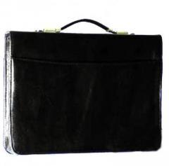 Folders and purse