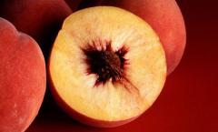 Персики урожай 2013