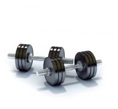 Dumbbells, signature stamps and simulators for