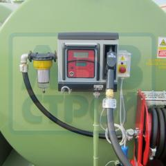 Automatic miniAZS for diesel fuel by filling an