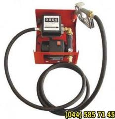 Pumps for diesel fuel, 12B, 24B, 220B, 60 l/min,