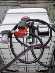 Fuel-dispensing knots