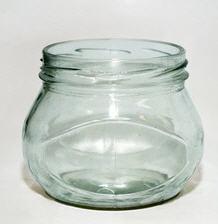 Стеклобанки и стеклобутылки эксклюзивных форм.