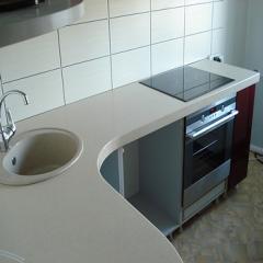 Кухни. Столешницы для кухни и ванных комнат,