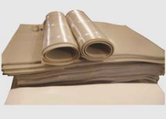 Plastic compound sheet 57-40 4 of mm