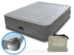 The double Intex air bed with the pump Ukraine