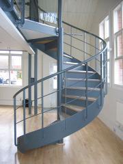 Винтовые лестницы от производителя Украина