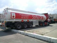 Gasoline and diesel fuel of all brands, sale,