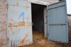 Ворота 1 металлические гаражные б/у Днепропетровск
