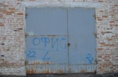 Ворота 22 металлические гаражные б/у