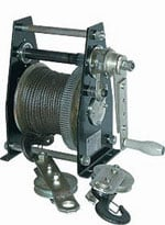 Winches with a loading capacity from 0,5 - 3,2