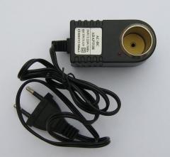 Адаптер 220V - прикуриватель 12V со шнуром