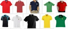 Polo t-shirts from jersey of LaCosta