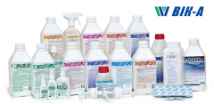 Disinfectants of the Ukrainian producer V_K-A for