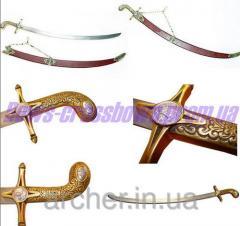 Espadas, floretes, sables de esgrima