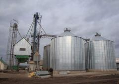 Зернохранилища с активной вентиляцией