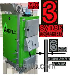 Котлы твердотопливные Ateplo LUX-1  25 кВт