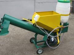 Equipment for fertilization and plant protection