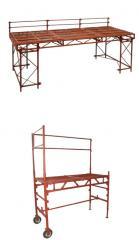 Стол-подмости для каменщика. Леса и конструкции
