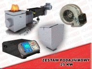 Torch with shnekovy automatic feeding pellet,
