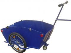 Economic cargo Vezun-1 car