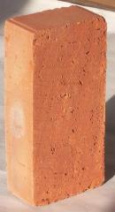 Кирпич керамический рядовой М100, М75