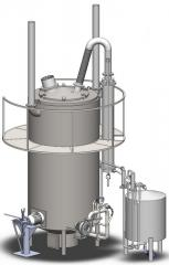 Pyrolysis Fortan-2 installation