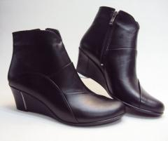 Women's boots leather