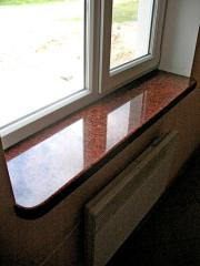 Window sills granite