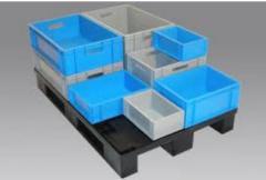 Ящики из пластика формованные и литые от