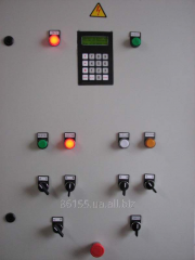 Block of automatic equipment of a drying chamber
