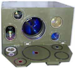 Оптико-электронный модуль с лазерным каналом