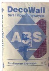 Штукатурка гипсовая ABS