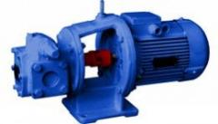 Oil gear pump NMSh2/40-1,6/16B