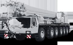 Krupp 140 GMT-AT truck crane