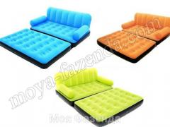 Inflatable transforming bed with the pump Ukraine