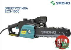 Электрическая цепная пила Sadko ECS-1500