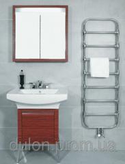 Nobis Chrome Zehnder design heated towel rail