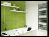 Apollo Chrome heated towel rail