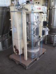 The dryer of Raspylitelnaya In the Boiling Glatt