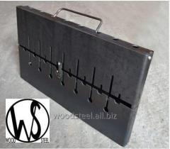 Barbecue - suitcase on 8 skewers