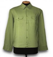 Shirt for MO, long sleeve, wormwood