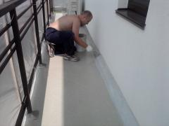 The plinth is floor, monolitny