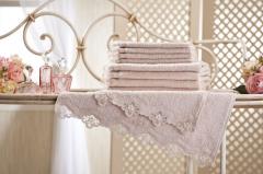 """Bathing loop towel of """"TM"""" of"""